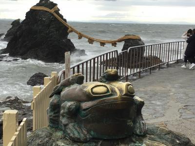夫婦岩~伊勢志摩スカイラインを通り朝熊山頂展望台へ