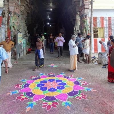 2019冬休み南インド:『癒し』、ここにあります。(2)カーニャクマリ~マハラジャの木造宮殿