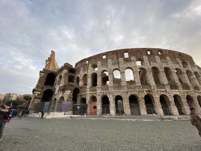 クリスマスのイタリアへ ローマとフィレンツェ 母子旅 2日目