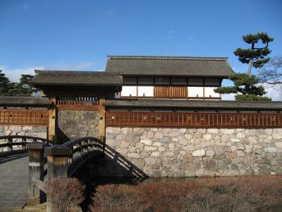 日本100名城を行く(松代城)プラス善光寺初詣