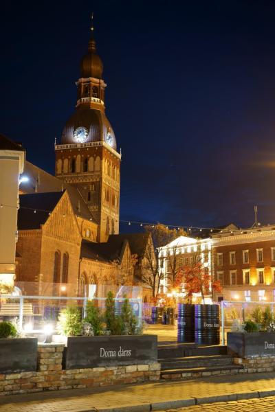 秋のバルト三国 ひとり旅 【11】リガ旧市街で午後の街歩き