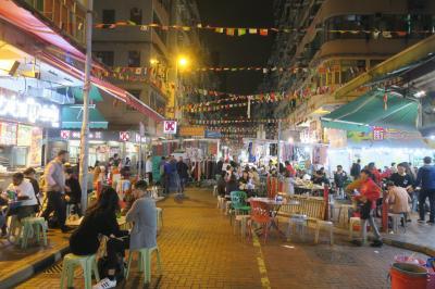 年末年始のベルリン滞在5泊8日 ⑥香港でナイトマーケット