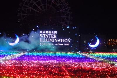 東武動物公園ウインターイルミネーション2019-2020
