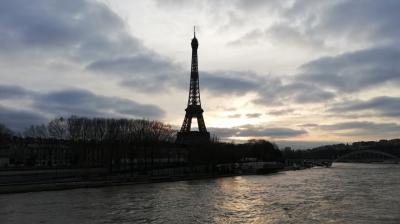 2019年12月末パリ・上海旅行