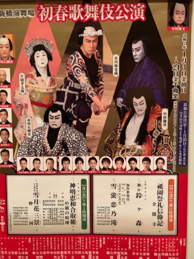 成田屋のめ組の喧嘩を観に行ってきました!イン・新橋演舞場