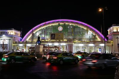 2019年12月~2020年1月 タイ鉄道で行くタイ・ウドンターニとノーンカーイの旅(1)最後のフアランポーン駅編