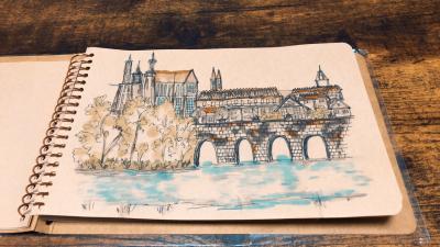 ヨーロッパ『魔法の都』プラハを歩く♬準備してます編