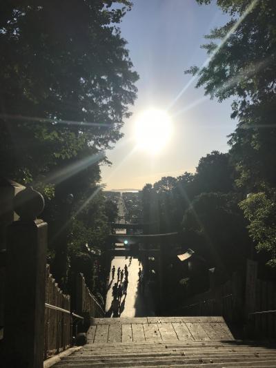 50回搭乗達成♪~神宿る宗像大社と宮地嶽神社を周る~