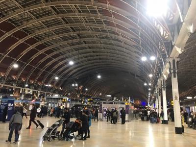 友人を訪ねてロンドンから日帰り列車の旅