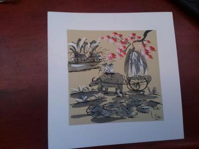 サイゴンの3日間(30)郵便局で絵葉書を買ってホテルに戻る。