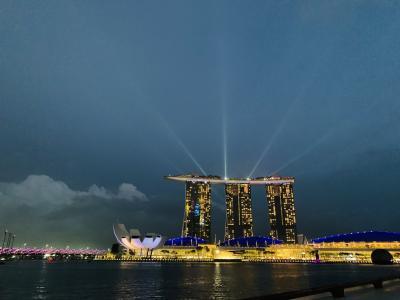 2019~2020年越し シンガポールの旅1