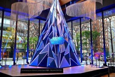 2019年:冬『STAR WARS Marunouchi Bright Christmas 2019』毎年恒例!子供達と一緒に丸の内へGo!