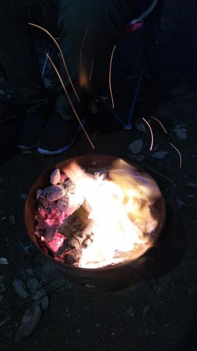 今年のお正月はまったり姫路でキャンプ