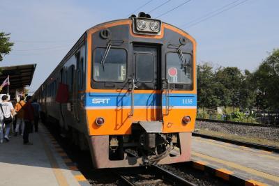 2019年12月~2020年1月 タイ鉄道で行くタイ・ウドンターニとノーンカーイの旅(2)タイ鉄道乗り鉄前編