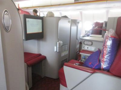 香港航空 ビジネスクラス 香港から台北