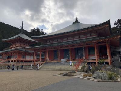 新年の比叡山登山 京都から比叡坂本へ
