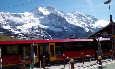 念願のスイスアルプス