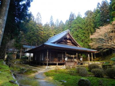 新春の京都大原、来迎院に聲明を訪ねる(2020/1)
