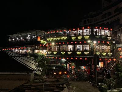 お正月、初台湾(2日目、九份、十份、士林夜市)