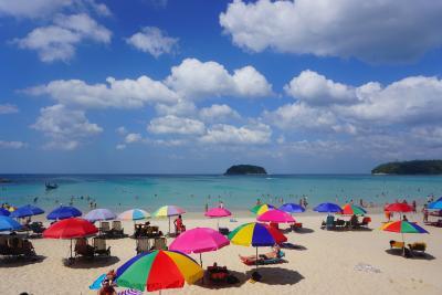 タイ プーケット 一人旅 ~3日目 カタビーチ・オールドタウン~
