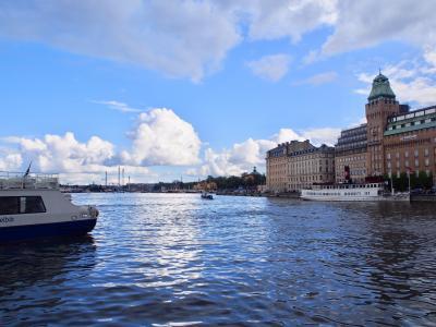 北欧の旅*ストックホルムでハピネスを探せ~建築、海、食べ物