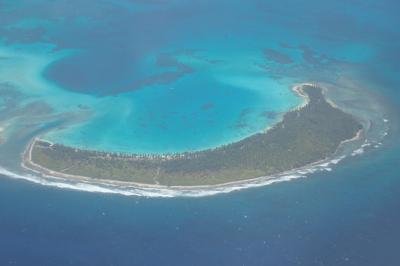 絶海の孤島ココス島に上陸。しかし滞在たったの25分。