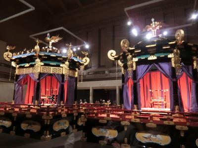 2019年六本木ヒルズクリスマスマーケットと東京国立博物館の高御座一般公開
