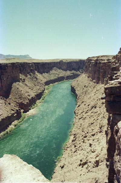Horseshoe Bend, Glen Canyon, 1978.