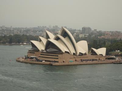 年末年始ニュージーランド(2) 乗継時間でシドニー