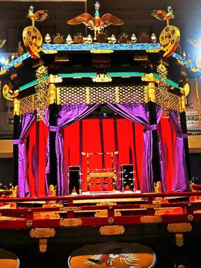 東博-2  ≪ 高御座 ≫ 天皇の玉座 特別公開 ☆即位礼正殿の儀の舞台-間近に拝観