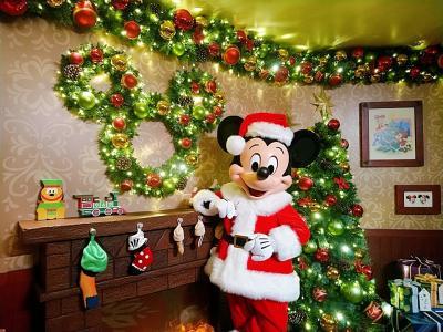 香港★サンタミッキーに会いに クリスマス前の香港ディズニーランドを楽しむ