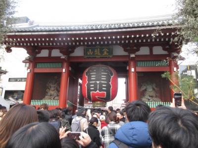 東京の初詣