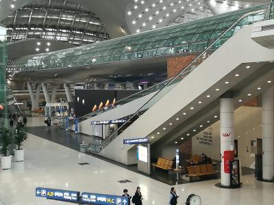 仁川空港でロケ地巡り