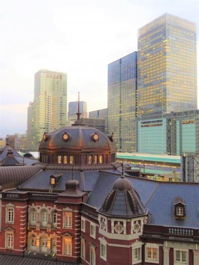 東京 KITTE丸の内ガーデンオアシスで東京駅を一望