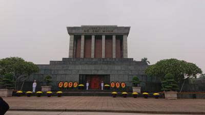 黒一点・初めてのベトナムそしてカンボジア☆ 1日目/5日間