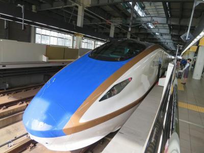 秋の北陸ロマン(33終)北陸新幹線はくたか号グランクラスで東京へ