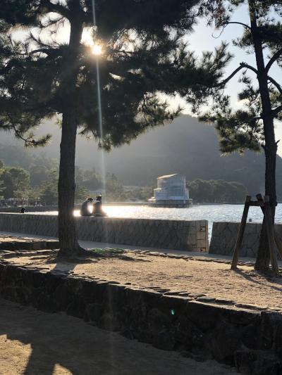 大人の修学旅行: 厳島神社 初めての青春18切符