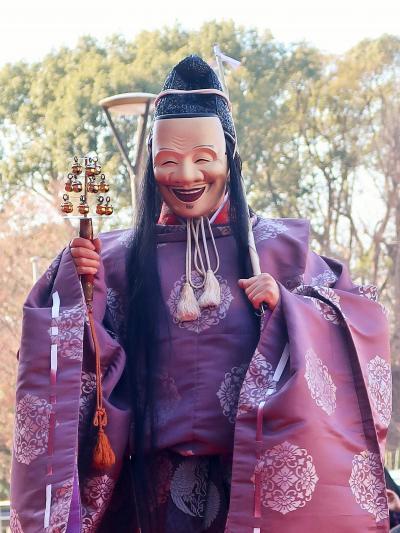 東博-7〔 獅子舞 〕葛西囃子中村社中 縁起の良いイベント ☆福を招き-無病息災を祈念-