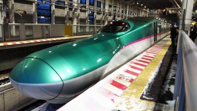 上野駅→東北・北海道新幹線→新函館北斗駅☆