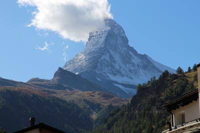 シニアー夫婦のスイスゆっくり旅行30日  (10)ツェルマットへ移動します(9月29日)