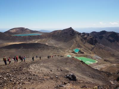2019年年末 南半球トレッキング(その2:Tongariro Alpine Crossing)
