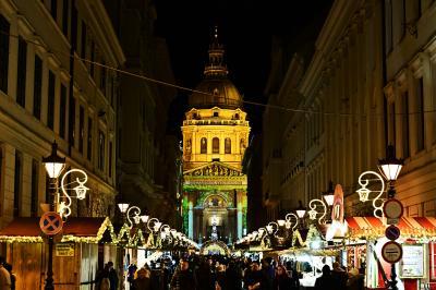 25日を過ぎてもクリスマスマーケットを楽しむ旅・・・1(ブダペスト編1)