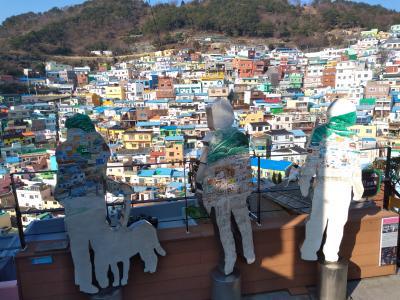 初めての福岡・大分&釜山で美味しい食を求めて~4日目 甘川文化村&チャガルチ観光