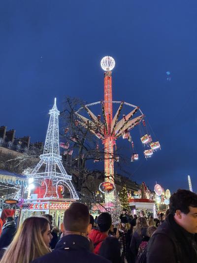 ストに負けずに、年末年始パリ旅行!(途中ロンドン弾丸旅行あり) パリ1日目