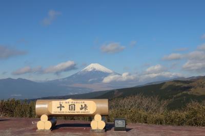 富士山を見に十国峠へ