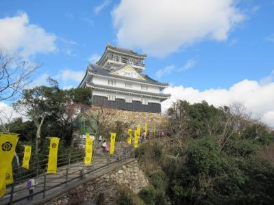 年末年始 青春18きっぷで行く関西旅行(お城と山)1日目 2019/12/31
