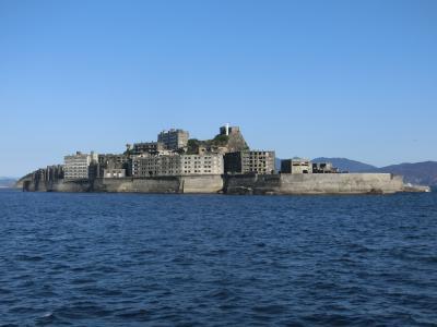 冬の長崎旅行《前編》念願の軍艦島に初上陸