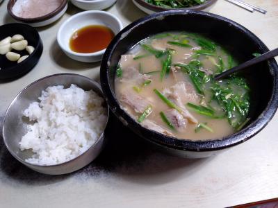 初めての福岡・大分&釜山で美味しい食を求めて~5日目 デジクッパを食べて帰国