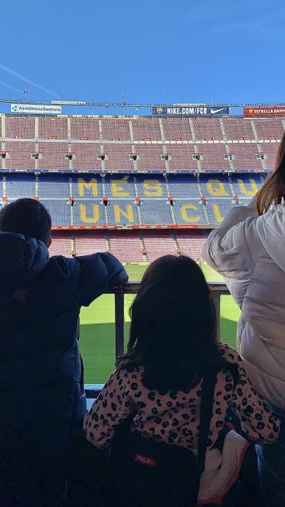サッカー少年の夢を叶える旅・・・Barcelona