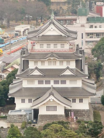 千葉県本庁舎19階 展望回廊~360度の眺め ☆東-南-西-北 千葉城/セントラルタワーなど